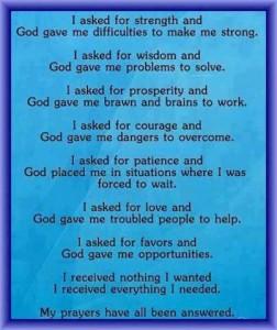 PrayersAnswered